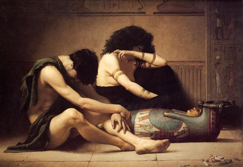 Beautiful-Oil-painting-The-Death-of-the-First-Born-Grieving-young-couple-canvas.jpg